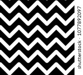 pattern with white zigzags on a ... | Shutterstock . vector #1077892097