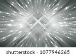 explosion background silver... | Shutterstock . vector #1077946265