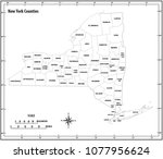 new york state administrative... | Shutterstock .eps vector #1077956624