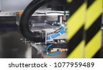 details industrial equipment.... | Shutterstock . vector #1077959489