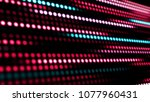 animation of moving colorful... | Shutterstock . vector #1077960431