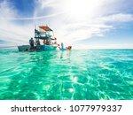 cozumel  mexico   april 19 ... | Shutterstock . vector #1077979337