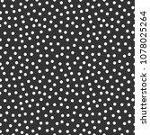 memphis geometric seamless... | Shutterstock .eps vector #1078025264