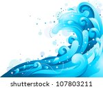 illustration featuring giant... | Shutterstock .eps vector #107803211