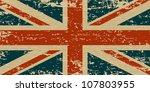 flag of the united kingdom. uk... | Shutterstock .eps vector #107803955