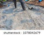 builder  fine cement floor  | Shutterstock . vector #1078042679