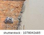 builder  fine cement floor  | Shutterstock . vector #1078042685