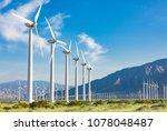Dramatic Wind Turbine Farm In...