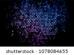 dark blue  red vector greeting... | Shutterstock .eps vector #1078084655