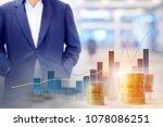 business background blur of... | Shutterstock . vector #1078086251