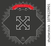 extend  resize  enlarge line...   Shutterstock .eps vector #1078123901