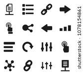 flat vector icon set   sorting...