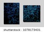 light blue  green vector layout ...
