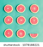 aerial view of colorful citrus... | Shutterstock . vector #1078188221