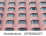 the windows of the hotel are... | Shutterstock . vector #1078206227