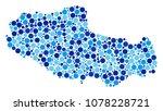 tibet chinese territory map... | Shutterstock .eps vector #1078228721