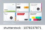 paper cut design presentation... | Shutterstock .eps vector #1078237871
