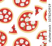 vector seamless pattern with... | Shutterstock .eps vector #1078243919