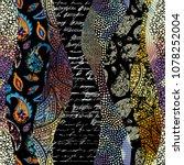 seamless background. geometric...   Shutterstock .eps vector #1078252004