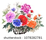 the traditional ancient chinese ... | Shutterstock . vector #1078282781