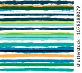 vector striped summer pattern.... | Shutterstock .eps vector #1078288079