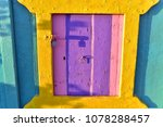 little colorful window at klima ... | Shutterstock . vector #1078288457