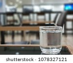 a glass of cold water on the... | Shutterstock . vector #1078327121