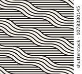 vector seamless pattern. modern ... | Shutterstock .eps vector #1078330145