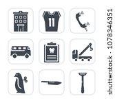 premium fill icons set on white ...   Shutterstock .eps vector #1078346351