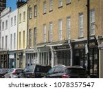 Small photo of LONDON- APRIL, 2018: Church Street antiques shops off Edgware Road in Marylebone.