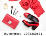 Collection Of Red Women\'s...