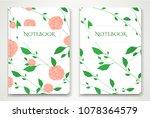 cover designi of notebook ...   Shutterstock .eps vector #1078364579