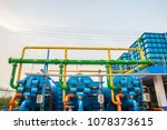 water treatment process and... | Shutterstock . vector #1078373615
