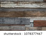 old wooden background patched... | Shutterstock . vector #1078377467