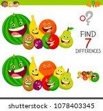 cartoon illustration of finding ... | Shutterstock .eps vector #1078403345