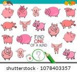 cartoon illustration of find... | Shutterstock .eps vector #1078403357