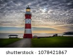Lighthouse On Plymouth Hoe At...