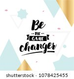 be the game changer.... | Shutterstock .eps vector #1078425455