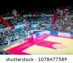blurred background. basketball...   Shutterstock . vector #1078477589