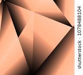 gold fractal luxury background  ... | Shutterstock .eps vector #1078488104