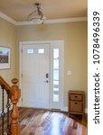 closed front door leading onto... | Shutterstock . vector #1078496339