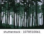 vector illustration of green... | Shutterstock .eps vector #1078510061