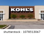 muncie   circa april 2018  kohl'... | Shutterstock . vector #1078513067