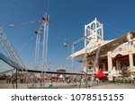 flying trapeze artists of... | Shutterstock . vector #1078515155