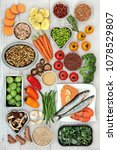 super food concept for a... | Shutterstock . vector #1078529807