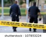 Toronto July 17  Police Line D...