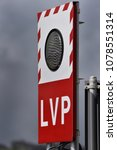 The light signal, when lit, indicates LVP (Low visibility procedures) at airports.