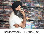 portrait of indian sikh man...