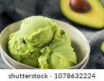 homemade green organic avocado...   Shutterstock . vector #1078632224