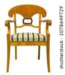 antique biedermeier style chair ... | Shutterstock . vector #1078649729